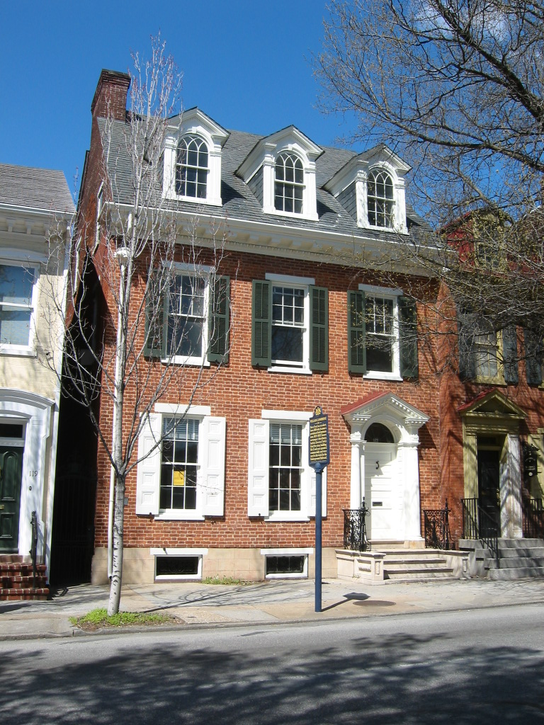 Goodridge's home at 123 E Philadelphia St, York hid his activities in the Underground Railroad