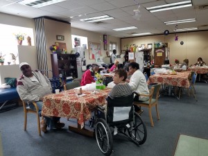 Active Living Center bustling with seniors