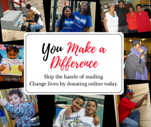 You Make a Difference Collage of youth and adults impacted by CA