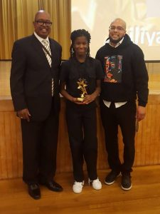 Ailiyah Harley Receiving Rising STARS Award