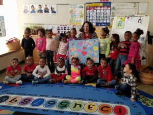 ELC welcomes Mrs. Gilbert for Valentine's Day